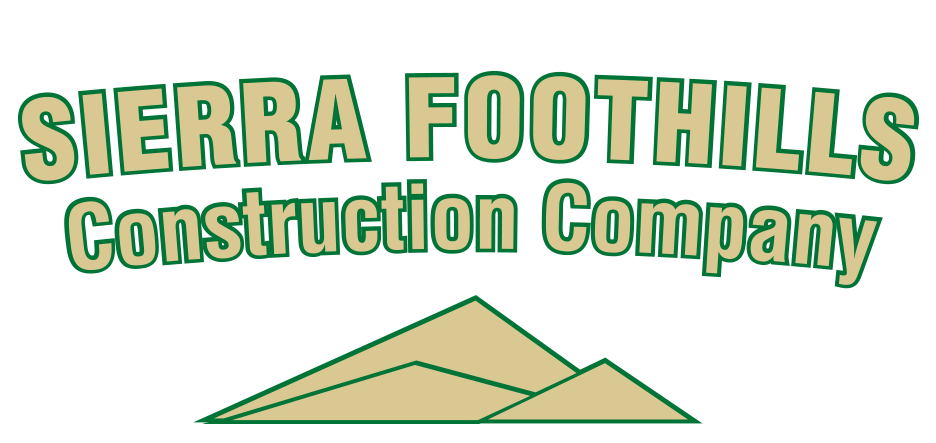 Sierra Foothills Construction Logo